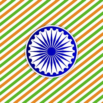 indias republic day with flag color background and ashoka, Republic, India, Independence PNG and Vector