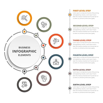 Circle Infographic Png, Vector, PSD, and Clipart With