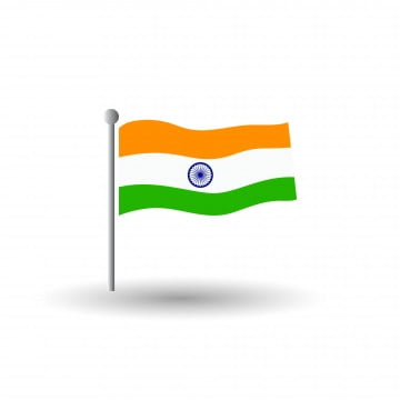 india flag vector illustration colors and proportion national isolated emblem concept eps, Flag Of India, Flag, India PNG and Vector