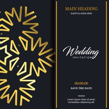 Indian Wedding Card Png Images Vectors And Psd Files Free
