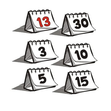 Daily Calendar Png Images Vector And Psd Files Free Download On