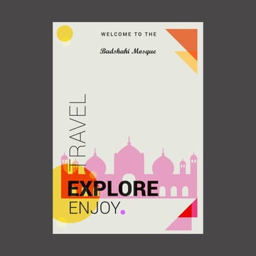 Badshahi Mosque Png, Vector, PSD, and Clipart With