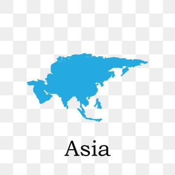 Asia Map Png, Vector, PSD, and Clipart With Transparent