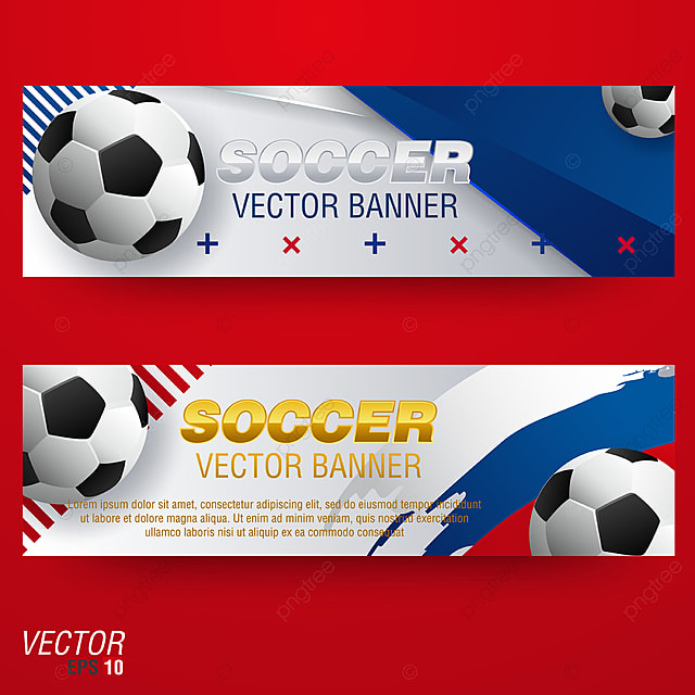 soccer banners background templates design for football sport team