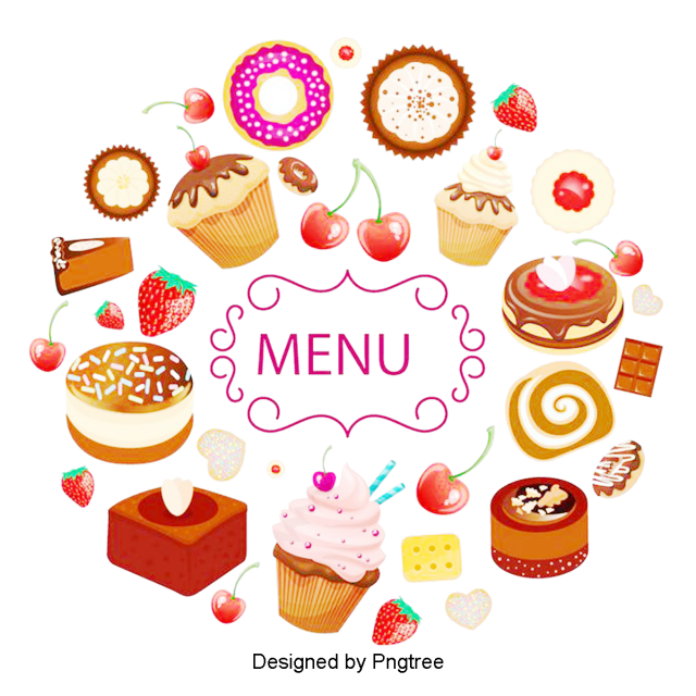 cartoon donut dessert cake  desserts  pastries  doughnuts