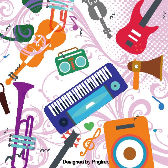 No Incorporar Instrumento Musical De Dibujos Animados Musica