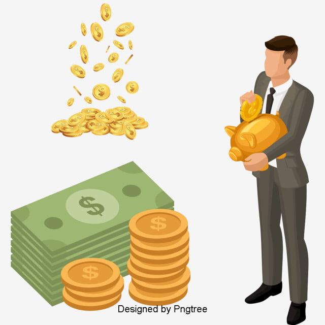 beau dessin plat d argent financi u00e8re esth u00e9tique cartoon mignon fichier png et psd pour le