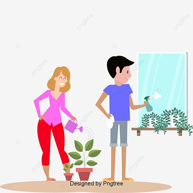 Gambar Indah Kartun Indah Tangan Dicat Cinta Keluarga Bahagia Ibu Dan Ayah Indah Kartun Indah Png Dan Psd Untuk Muat Turun Percuma