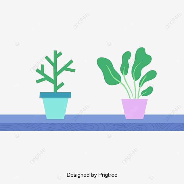 Kartun Yang Dilukis Dengan Tangan Desain Pot Bunga Sederhana Bunga Pot Bunga Tanaman Hias Png Transparan Gambar Clipart Dan File Psd Untuk Unduh Gratis
