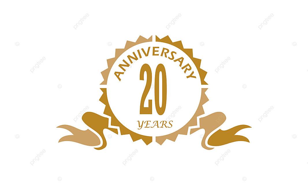 20 Ans Anniversaire Png.20 Ans De Ruban Anniversaire Salut Ceremonie Business Png