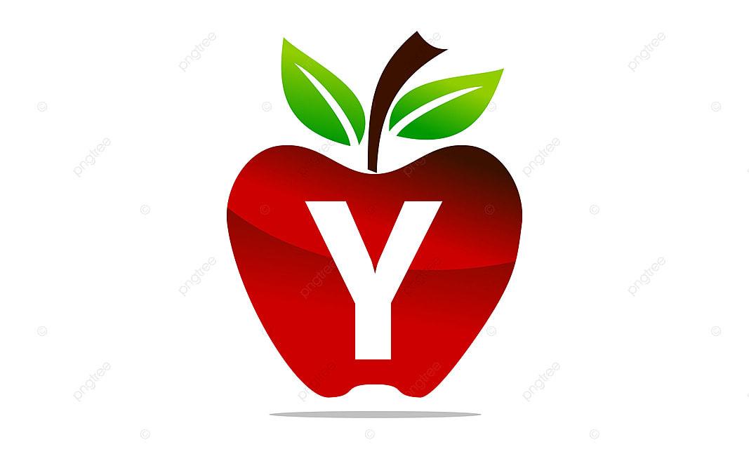 Apple Letter Y Logo Design Template Vector Design Eating Food Png