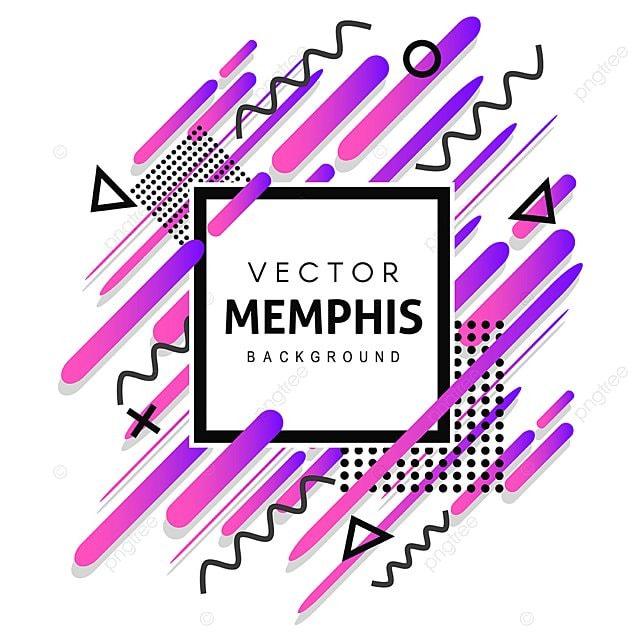 color u00e9 memphis vector contexte art sch u00e9ma gatsby png et