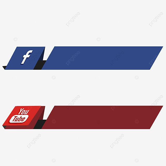 Home Design 3d Youtube: Social Media 3d Icon Facebook Youtube Vector Video Ribbon