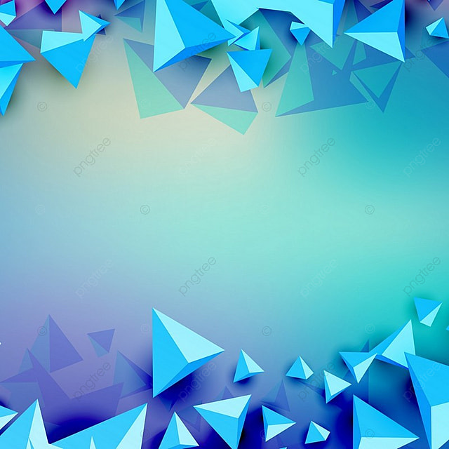 3D Triangle Futuristic Blue Background, Futuristic, Modern