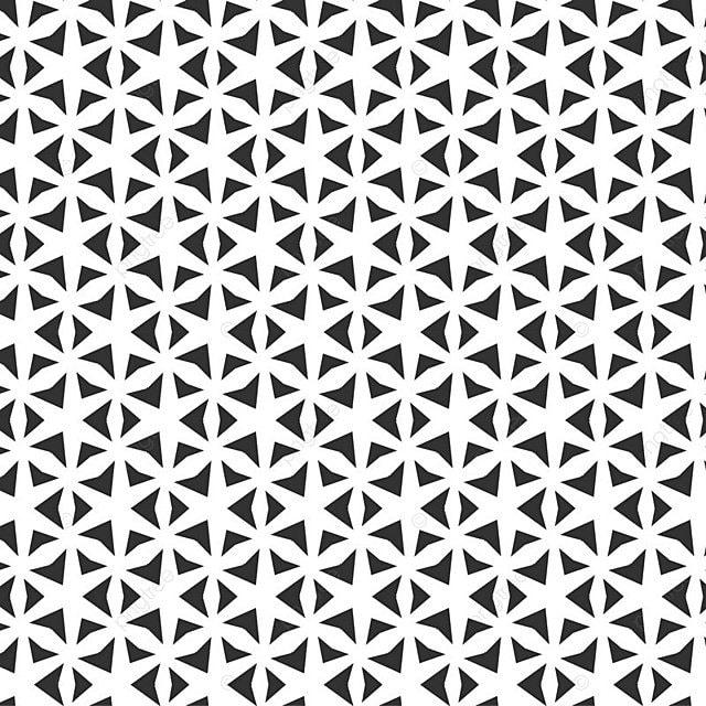 Abstract Geometric Seamless Pattern Repeating Geometric