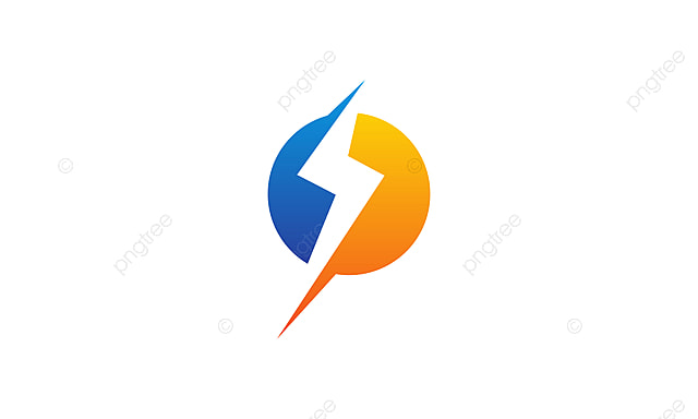 bolt energy logo design template vector bolt brand