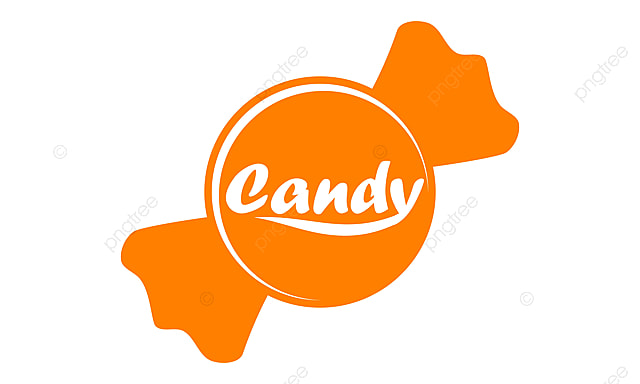 candy logo design template vector letter candy icon png