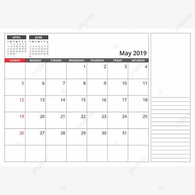 calendario de escritorio de mayo de 2019 2019 calendario