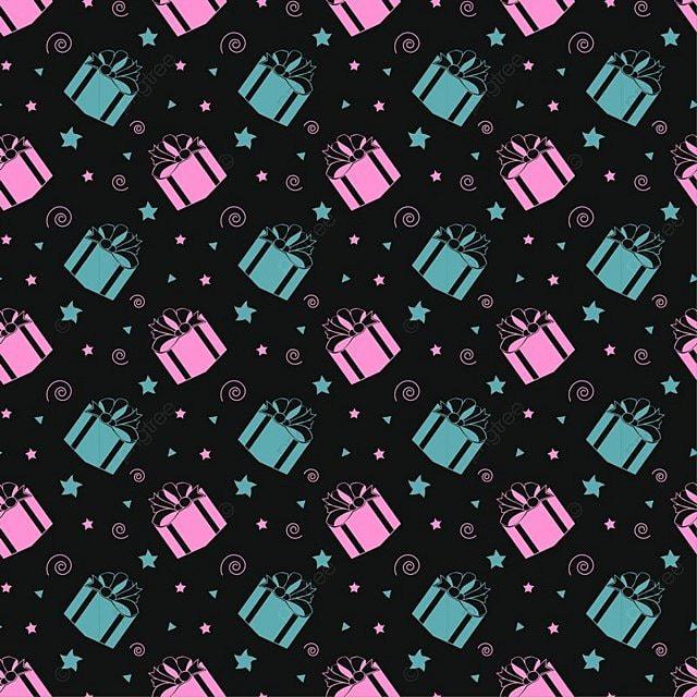Latar Belakang Pola Selamat Ulang Tahun Pentagram Wallpaper Kotak Hadiah Png Dan Vektor Dengan Latar Belakang Transparan Untuk Unduh Gratis