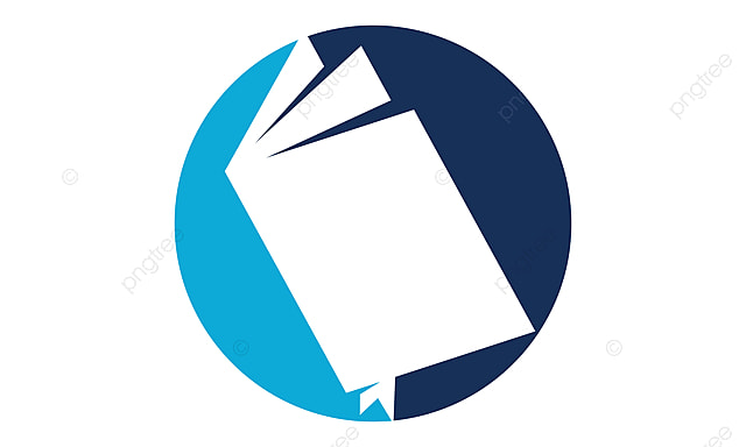 Open Book Logo Design Template Vector Academic Academy Realisation