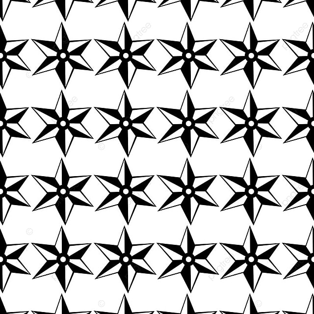 Aninimal Book: Vector Seamless Pattern Black And White Repeating ...