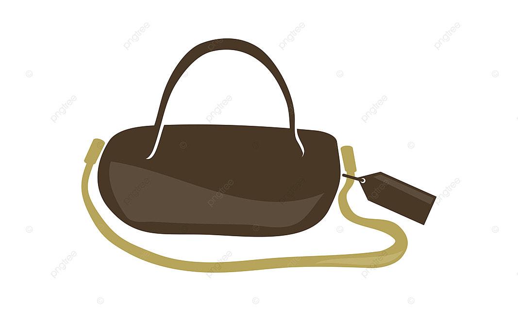 9ba4fc4565 Woman Bag Logo Design Template Vector