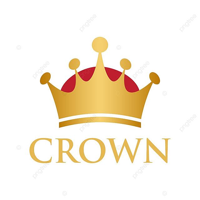Illustration Of Crown Logo Design Template Vector, Vector