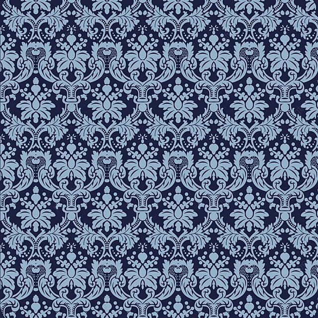 Seamless Luxury Ornamental Background Damask Seamless Floral Pattern