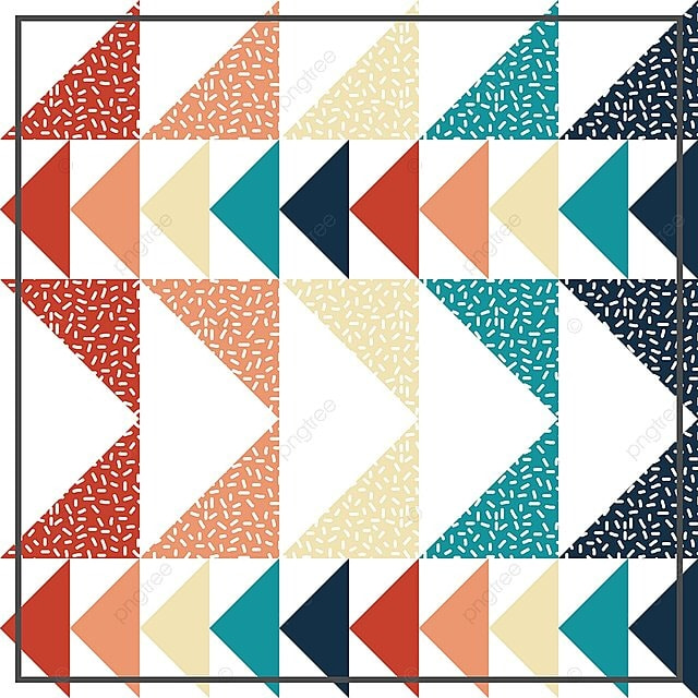 Seamless Patron De Triangulo Fondo Abstracto Con Textura Geometrica ...