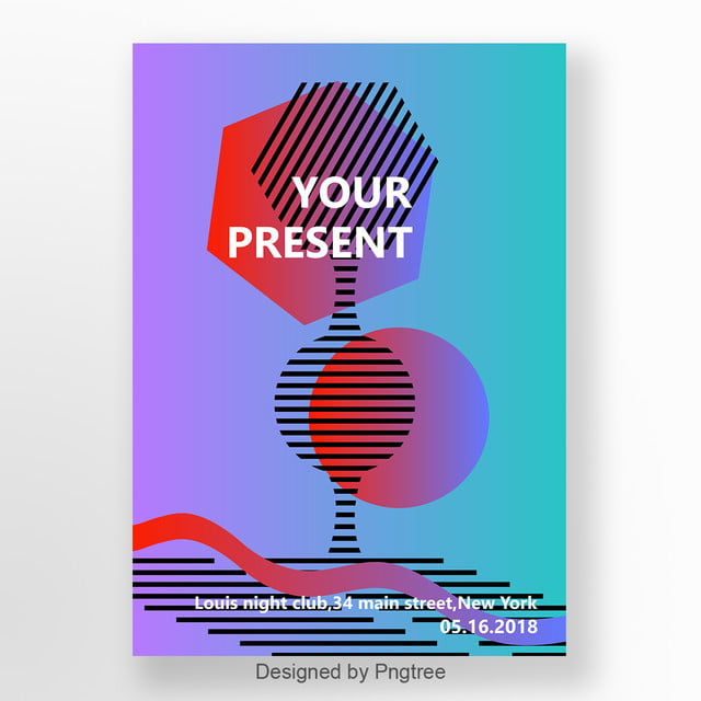 Simple fashion Poster Design template Template for Free Download on ...