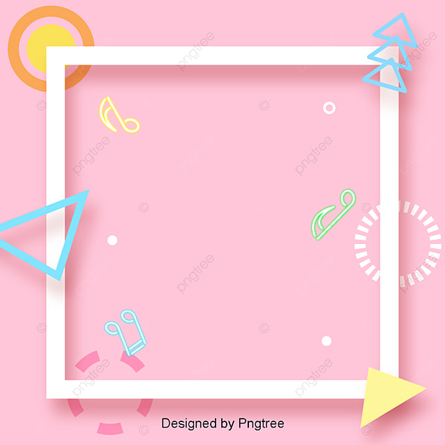 Stylish And Simple Border Design Fashion Simplicity Style Png And