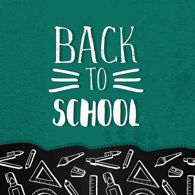 Back To School Banner With Hand Drawn Creative Student Equipments Back Education Doodle Png And Vector With Transparent Background For Free Download