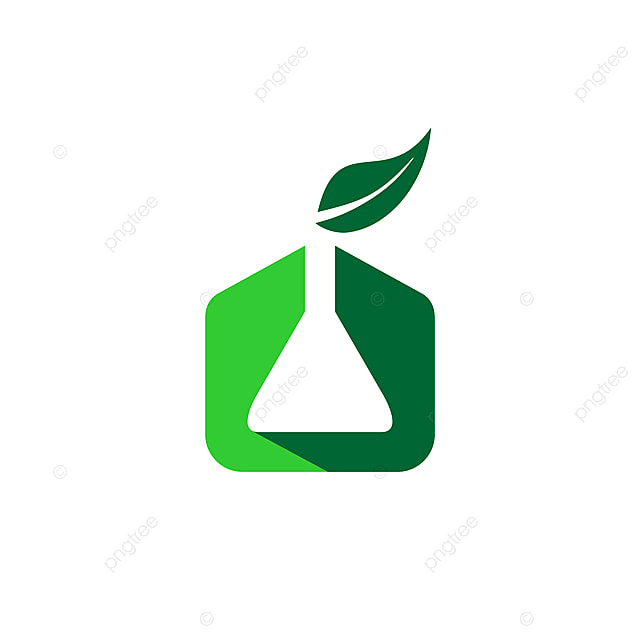 الكيمياء العضوية مع رمز رمز ورقة شعار الكيميائية البحوث والأخضر والعلمية والمياه ورقة Png والمتجهات للتحميل مجانا