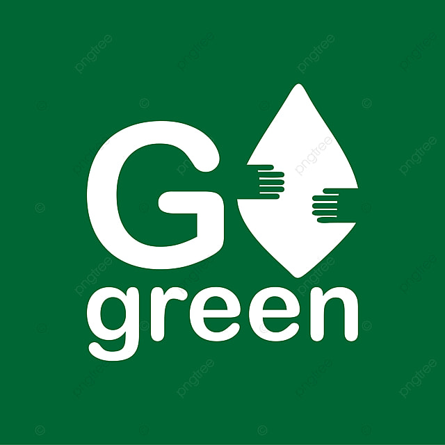 Go Green Banner Leaf Eco Ecological Png And Vector With Transparent Background For Free Download