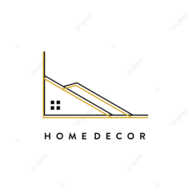 Home Decor Minimalist Logo Concept Element Shop Sofa Png And