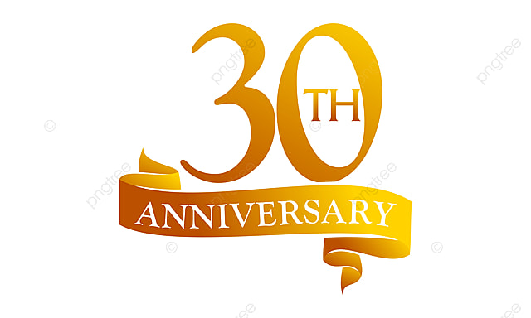 30 ans de ruban anniversaire anniversaire anniversaire