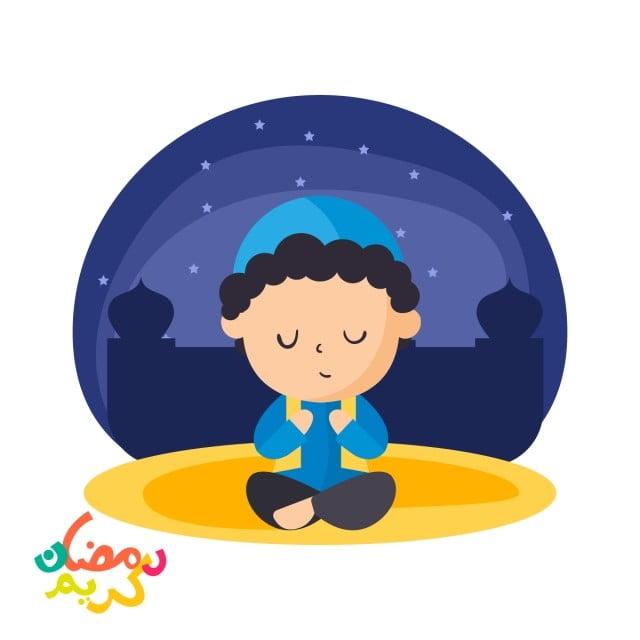 Unduh 4400  Gambar Animasi Muslim Berdoa HD Free