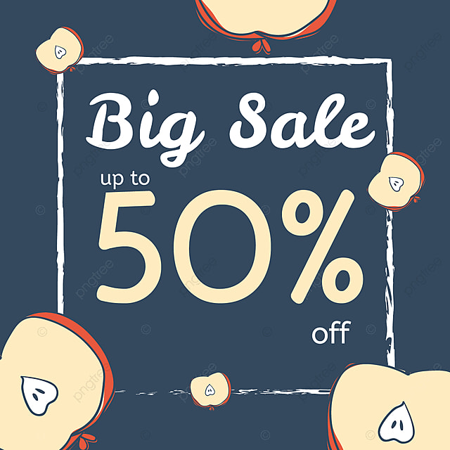 c41d3ca5a5c Summer Sale Banner With Fruits. Vector Illustration