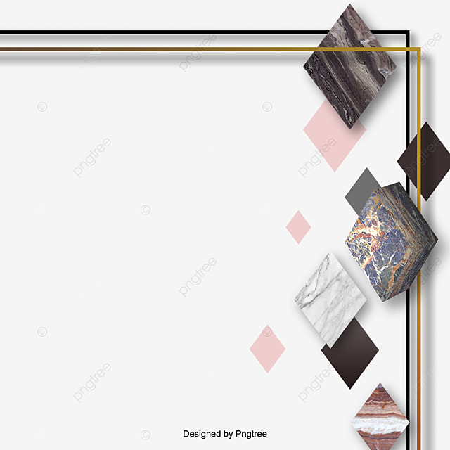 Modern Simple Abstract Border Elements, Modern, Simple ...