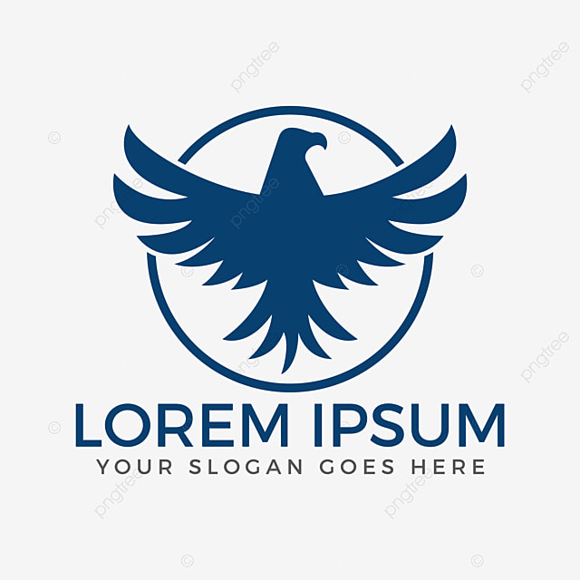 eagle or hawk bird logo abstract design vector template abstract