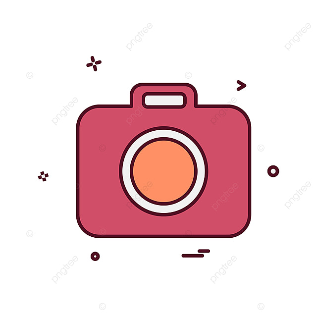 Camera Icon Design Vector Vector Camera Design Png And Vector For