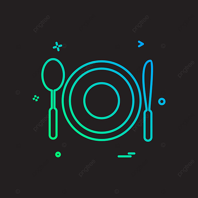 Food Icon Design Vector, Food, Icon, Illustration PNG and