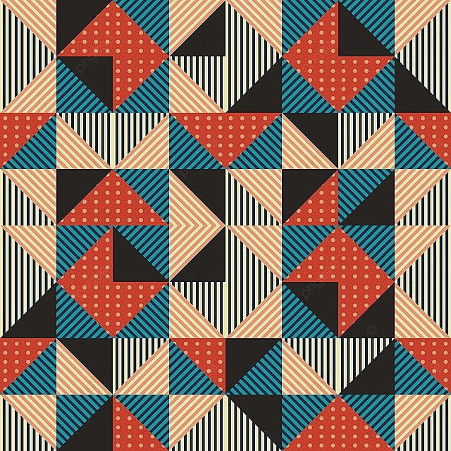 Hipster Moda Seamless Background Con Triángulo Geometric Memphis
