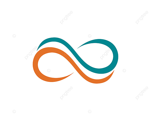 Infinity Logo And Symbol Template Icons Vector Abstract Background