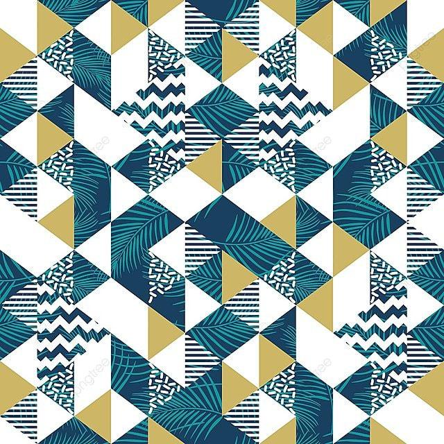 Triángulo Sin Patron Geometrico Con Hojas De Coco Fondos De Pantalla ...