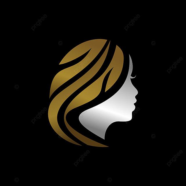 المرأة رمز الشعار خلاصة رمز العلامة التجارية الإبداعية لعلاج الشعر موضه أيقونة رمز Png والمتجهات للتحميل مجانا