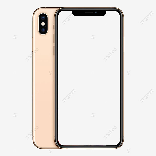 Iphone Xs Rose Gold Mockup Mobile Phone Replenishing Png And Psd