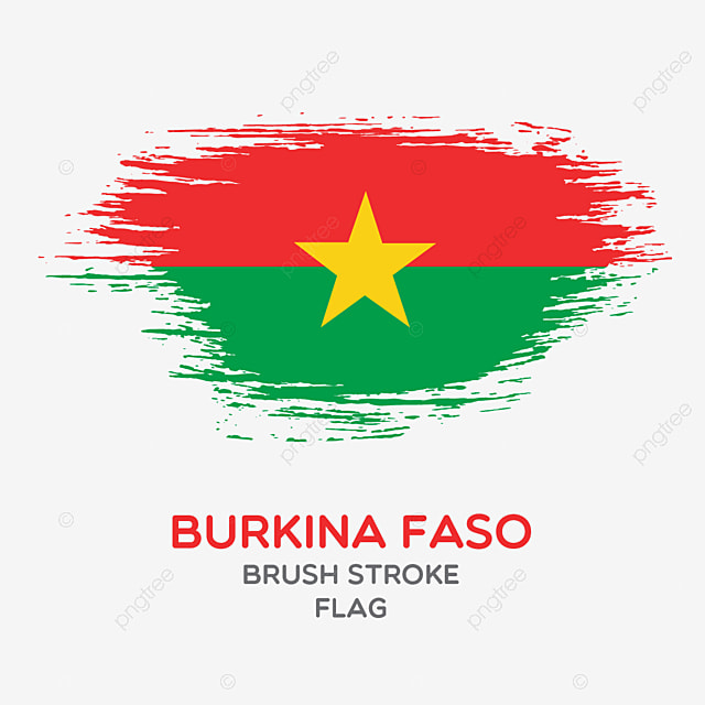 Burkina Faso Brush Stroke Flag Brush Stroke Flags Country Flag National Flag Png And Vector With Transparent Background For Free Download