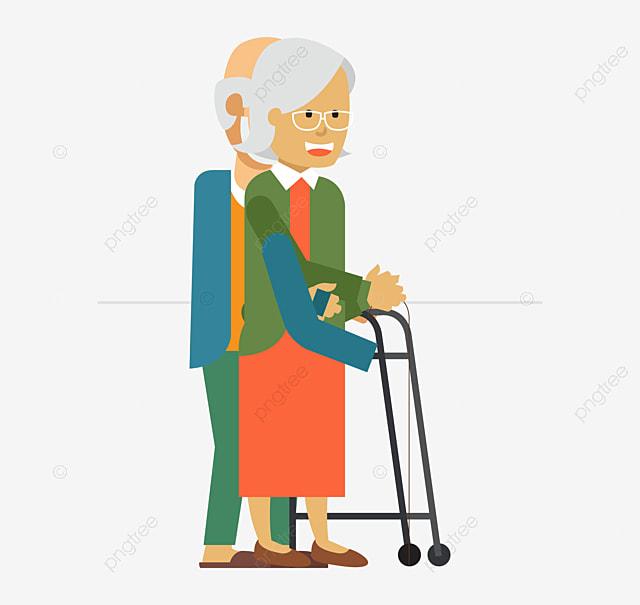 Personas De Edad Senior Persona Adulto PNG y Vector para Descargar ...