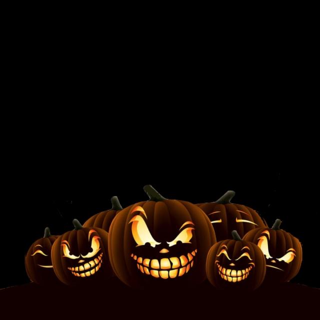 Halloween Pumpkins Fashion Simplicity Halloween Png Transparent